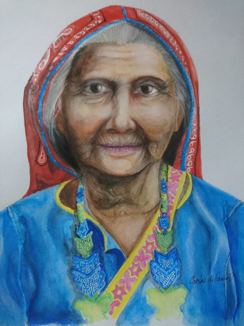 Abuela huichola